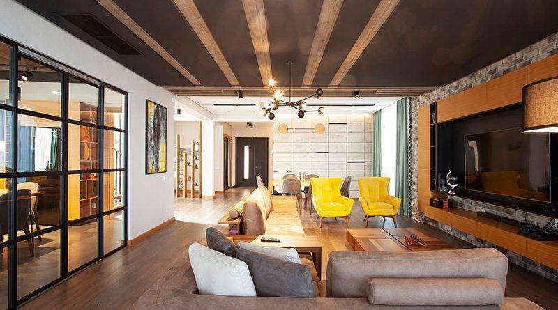 ინდივიდუალური საცხოვრებელი სახლის ინტერიერი ( რეალიზებული )